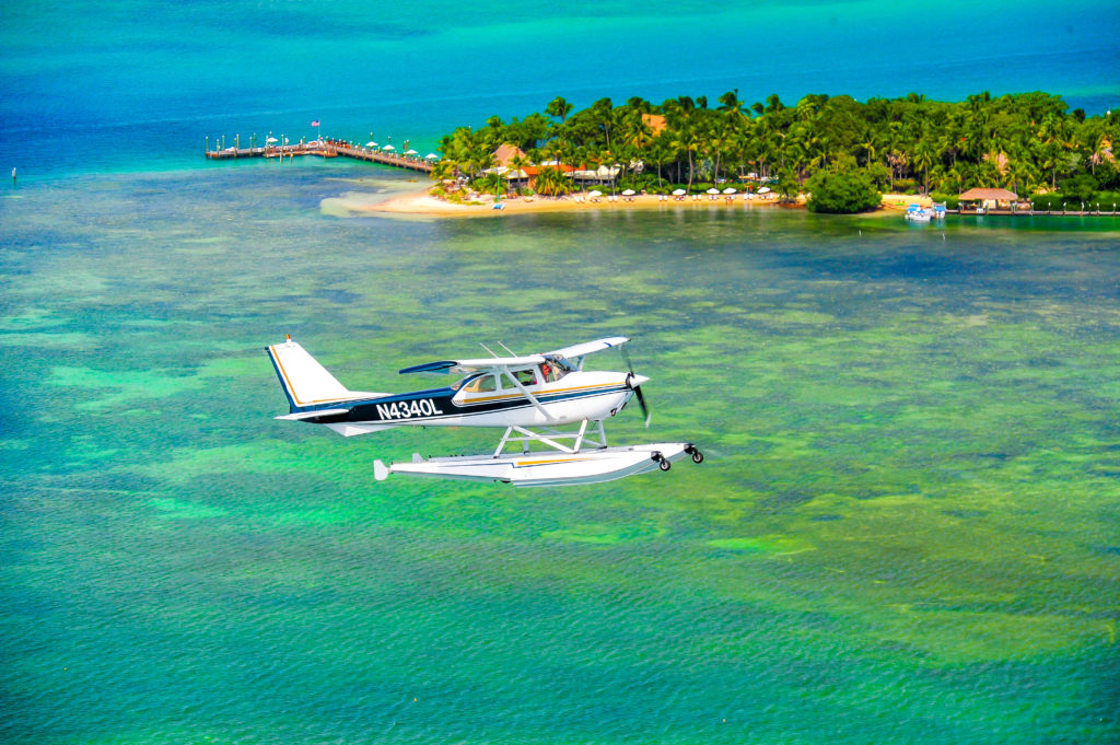 Key West Private Charter Seaplane for Scenic Flights and Tours