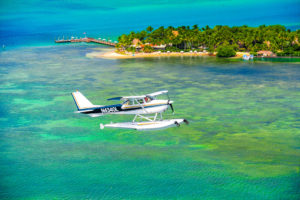 Key West Private Charter Seaplane from MIami, Fort Lauderdale, Naples, or Little Palm Island