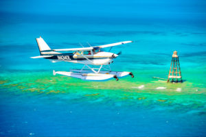 Key West Private Charter Seaplane to and from Key Largo and or Ocean Reef Club