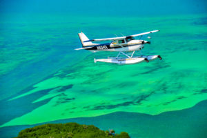 Key West Private Charter Seaplane to and from Mainland Florida