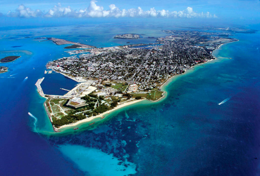 Key West Private Charter Seaplane for Scenic Flights and Tours to Dry Tortugas